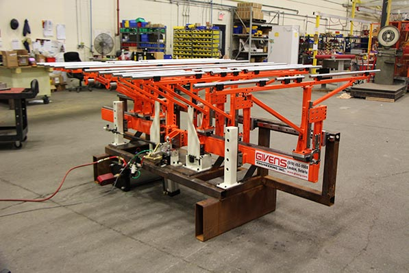 Pneumatic sheet lifter for a large press system