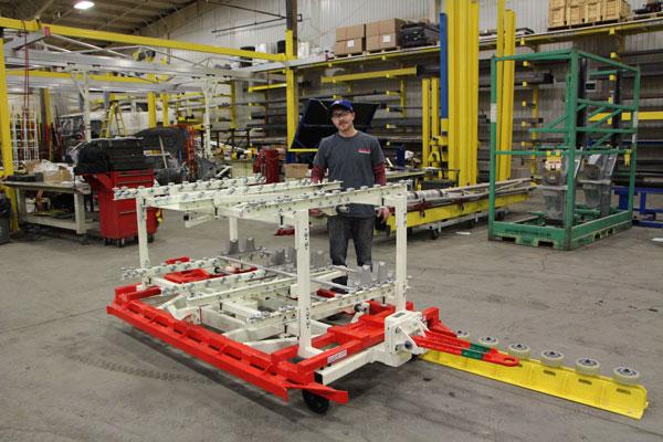Flow Rack Towing Cart