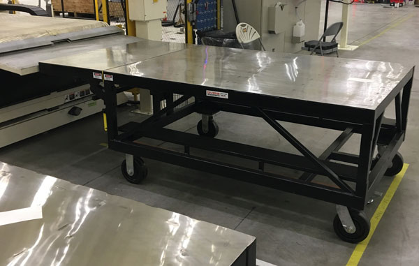 Flat Extending Table